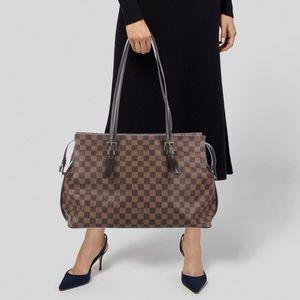 Louis Vuitton Chelsea Damier Ebene Shoulder Bag